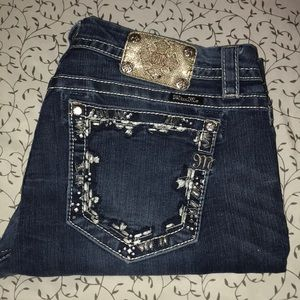 Miss Me Signature Boot cut Jeans